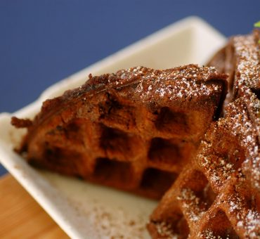 Brownie waffles recipe