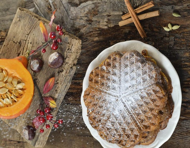 Festive Belgian Waffle ideas for the Holidays & Seasons